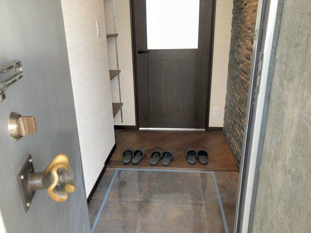 スカーラ神宮前 玄関