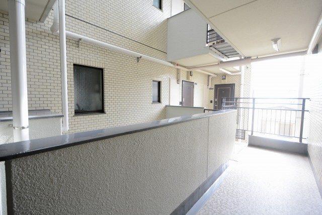 コスモ東長崎 外廊下