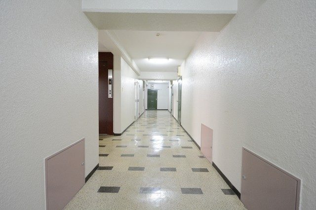 中銀小石川マンシオン 内廊下