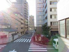 パストラルハイム西蒲田 LDK側バルコニー眺望