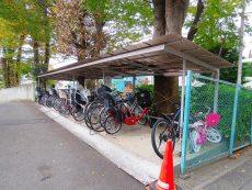 上野毛ハイム 駐輪場