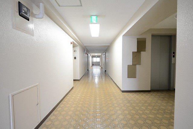 ハマイハイライズ 内廊下