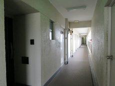 山王スカイマンション 共用廊下