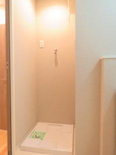 ビレヂ五反田 洗濯機置場
