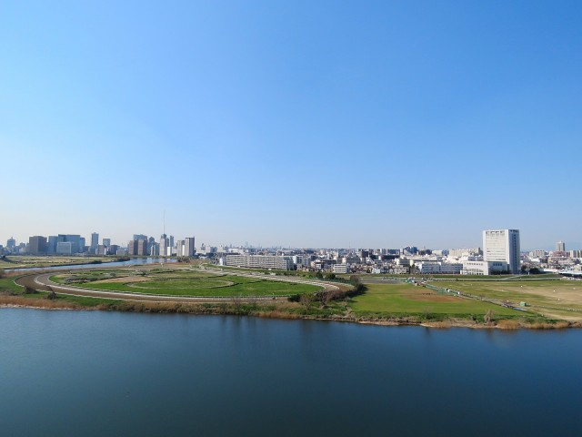 多摩川芙蓉ハイツ 眺望