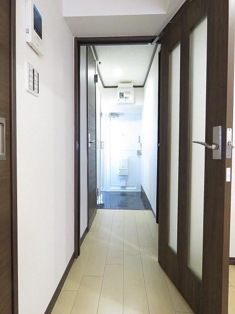 烏山南住宅 廊下