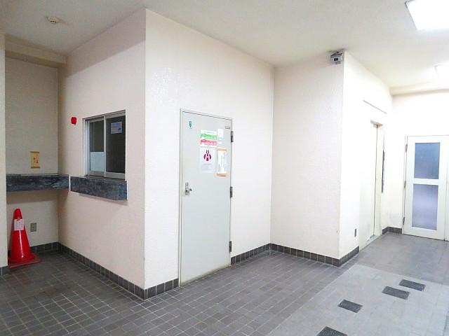 五反田サニーフラット エントランスホール