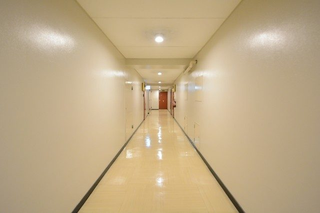 シャトレ市ヶ谷 内廊下