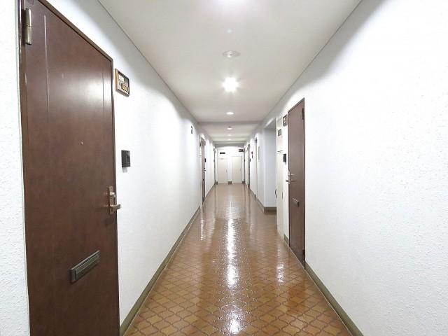 小石川ハイツ 共用廊下