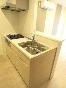 御苑フラワーマンション キッチン