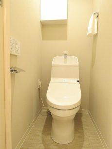 マートルコート自由が丘Ⅱ トイレ