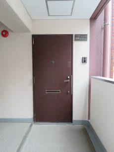 グランドメゾン新宿東 玄関扉