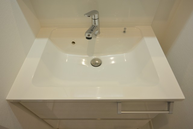 御苑フラワーマンション 洗面室
