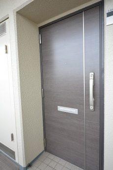 多摩川芙蓉ハイツ3号棟 玄関