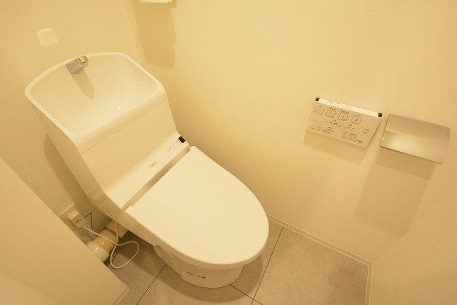 ソフトタウン晴海 トイレ