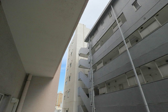 メゾン・ド・エビス バルコニー