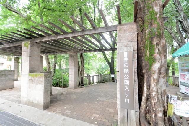 井の頭公園パークハウス吉祥寺南町 道中
