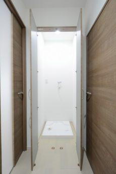 朝日目白台マンション 洗濯機スペース