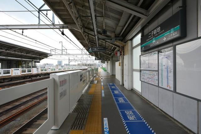 二子新地駅から物件まで (1)