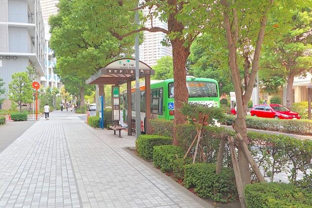 月島 バス停