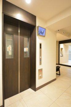 THEパームス渋谷常盤松 エレベーター