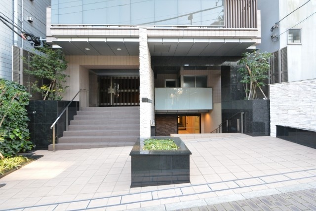 THEパームス渋谷常盤松 エントランス