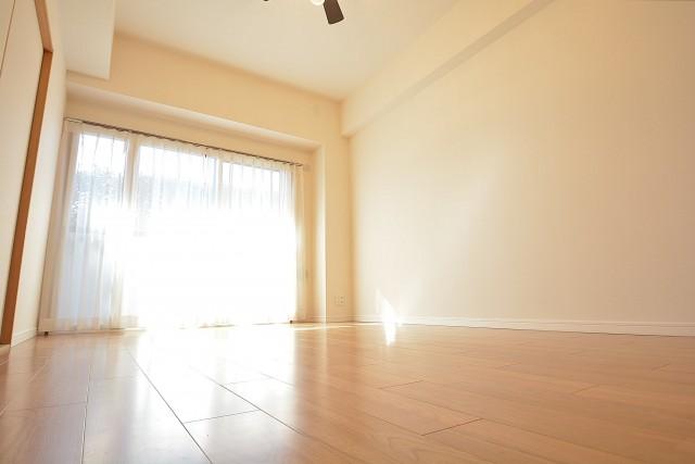 床暖房のついた約9.4畳のLD