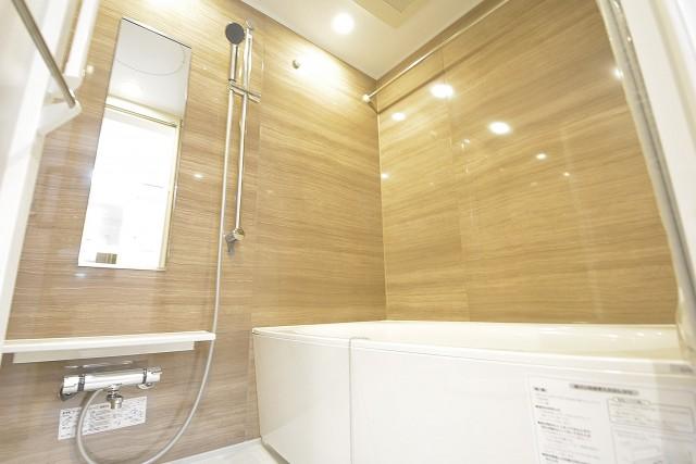 換気乾燥暖房機付きのバスルーム