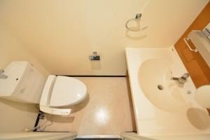 クローバー六本木 トイレ