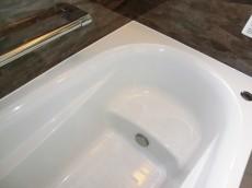 牛込中央マンション 半身浴ができる浴槽