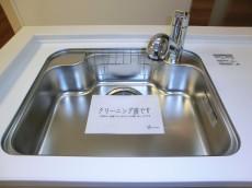 薬王寺ニューハイツ シンクには浄水器内蔵水栓