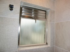 薬王寺ニューハイツ バスルームの窓