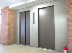 明大前グランドハイツ エレベーター2基設置