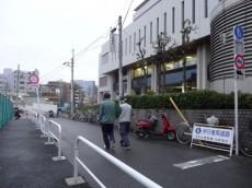 飯田橋第1パークファミリア 東京厚生年金病院の脇の道