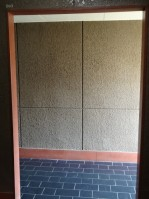 陽輪台松濤 玄関前廊下