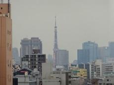 東京タワーも見えますよ♪