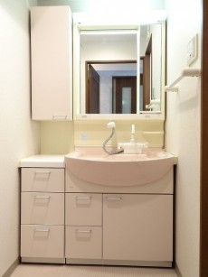 グレイス高輪一丁目1番 洗面化粧台