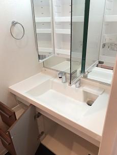 ライオンズマンション桜新町 洗面化粧台