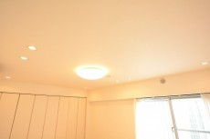 GSハイム都立大 9.0帖洋室照明