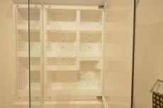 ライオンズマンション赤堤第2 洗面化粧台収納