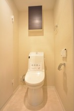 明大前グランドハイツ ウォシュレット付きトイレ