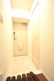 飯田橋第1パークファミリア 明るい玄関ホール