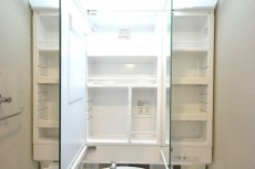 飯田橋第1パークファミリア 洗面化粧台の収納