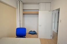約5.5畳の洋室のクローゼット