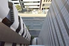 リシェ五反田スカイビュー バルコニーからの眺め(眼下)