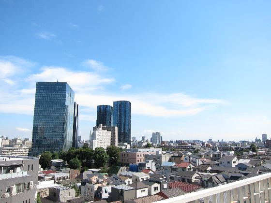 NK五反田コータース 最上階からの眺望