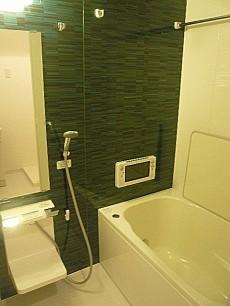 ライオンズマンショングリーン白金 バスルーム