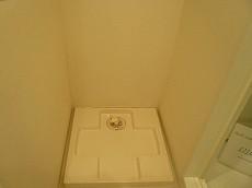 マンション白金台 洗濯機置場
