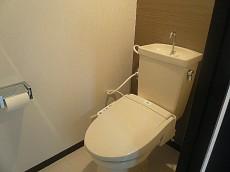 コープ野村六本木Ⅱ ウォシュレット付トイレ