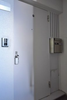 高輪中台マンション 玄関